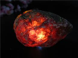 <b>Natural</b> Blood Red Amber Stones Perot Mineral <b>Crystal</b> Specimen ...