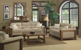 rustic wooden sofa design. Plain Rustic Modern Wooden Sofa Designs With Beige Cushions And Wood Coffee Table Throughout Rustic Design S