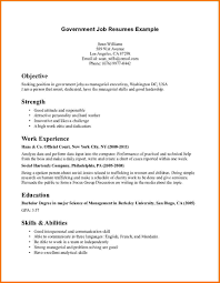 Government Job Resume Examples Sample Government Resumes Cityesporaco 24