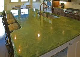 green onyx kitchen countertop