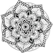 Printable Mandalas Coloring Pages Aspiration Free Mandala Online For