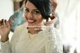 indian bridal makeup getting