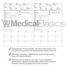 Cna Charting Chic Pocket Nurse Report Sheet Notebook Brain Sheet
