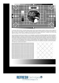 Small Picture Adult color test page for printer Mono Laser Printer Test Page