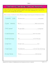 Word Study Worksheet Vocabulary Match Worksheets 4th Grade Word Study Worksheets
