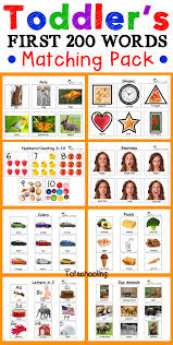 Brown Bear Color Matching Printable for Toddlers | Totschooling ...