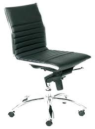 chair without arms desk office no armrest elegant o16