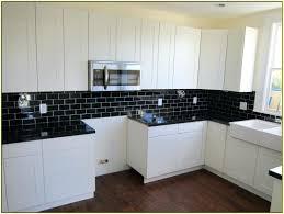 black tile backsplash kitchen black subway tile home design ideas black  subway tile backsplash tiles