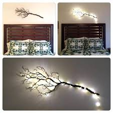 tree branch wall decor with branches bedroom artificial metal