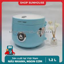 Nồi cơm điện 1.2L SUNHOUSE HappyTime HTD8522G bảo hành 12 tháng - Wiki mua