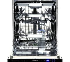 sharp qw gt24f463w. sharp qw-gd52i472x full-size integrated dishwasher sharp qw gt24f463w w