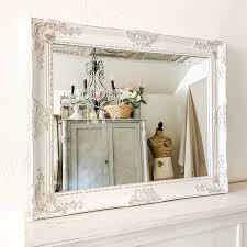 beautifully framed bathroom mirrors