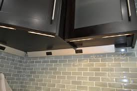 lighting under cabinets. Image Of: Profile Under Cabinet Lighting With Outlets Cabinets