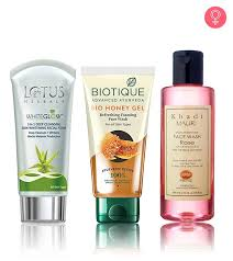 best herbal and ayurvedic face washes available in india our top 10
