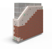 Traditional Contruction / External Wall Insulation with Brick Slip System