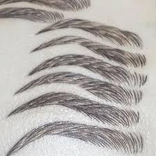 eyebrow microblading shapes. microblading styles eyebrow shapes e