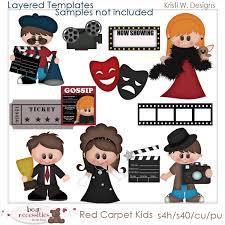 carpet time clipart. red carpet kids - kristi w designs templates time clipart
