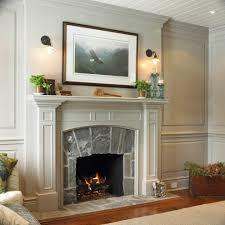fireplace mantels ideas indoor