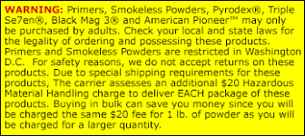 Pyrodex Powder 1 Lb