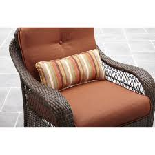 better homes and gardens azalea ridge outdoor rocking chair patio furniture cushions large glider table cushion covers outside bhg kmart sectional seat