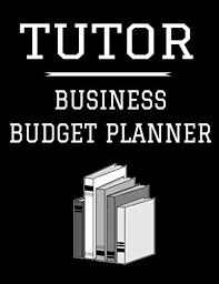 Teacher Organizer Planner Pdf Tutor Business Budget Planner 8 5 X 11 Tutoring