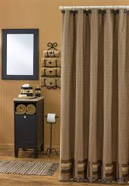 beige and brown shower curtain. 12101 12101-1 beige and brown shower curtain t