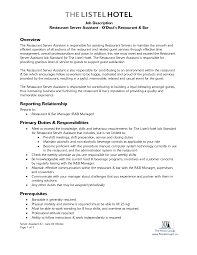 hotel and restaurant service resume resume sample visualcv resume examples waitress resume example skills summary highlights in customer service oriented