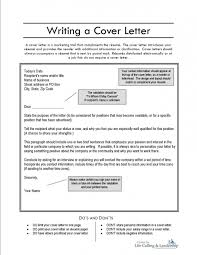 create a cover letters template create a cover letters