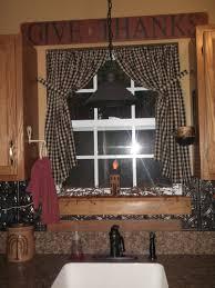 Primitive Curtains For Kitchen