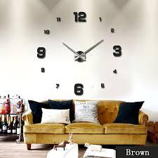 3d wall clock wall watch modern design hang