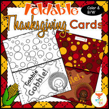 Printable Thanksgiving Cards Thanksgiving Cards Foldable Craft And Coloring Printable