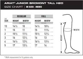 53 Extraordinary Ariat Riding Boots Size Chart