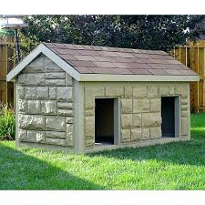 large plastic dog house an extra large plastic dog house that looks like its made of large plastic dog house