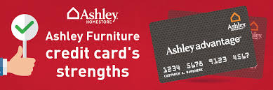 ashley furniture credit cards strengths 18