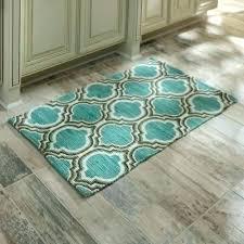 teal kitchen rug teal colored