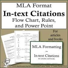Mla Format Textbooks Citations Teaching Resources Teachers Pay Teachers