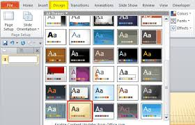 Design Slides For Powerpoint 2010 How To Create A Banner In Powerpoint 2010 Powerpoint E Learning Center