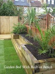 creating railway sleepers garden edging