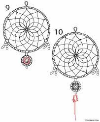 Dream Catcher Patterns Step By Step How to Draw a Dreamcatcher Step by Step Cool100bKids 98