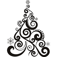 Custom Christmas Tree Decal That Can Be Put Almost Anywhere Christmas Tree Decals
