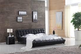 italian modern leather bed 0414 813 buy italian furniture online