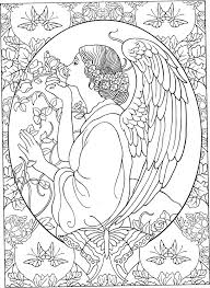 Guardian Angel Coloring Page At Getcoloringscom Free Printable