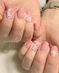 可愛い フラワーネイル Footnail フットネイル Nailnails Gel