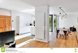 Modern Luxury Living Room Modern Luxury Living Room And Kitchen Stock Photo Image 81396597