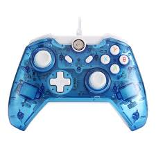 Led Light Xbox One Controller Jrh 8112 Wired Game Controller With Lights Gamepad For Xbox One Transparent Blue