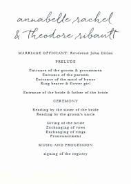 Wedding Ceremony Program Template Free Download Silhouette Wedding Program Template Free Elegant Printable Wedding