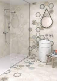 Hexagon Bathroom Tile