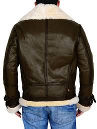 11 6 aviator er jacket sheepskin shearling men s