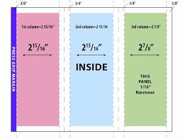 4 Panel Brochure Template Elegant 3 Panel Brochure Template 4 Panel Brochure Template