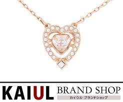 swarovski heart necklace rose gold rhinestone dancing accessories sa rank